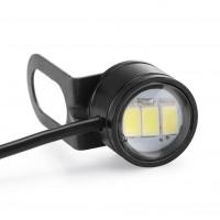 2 adet Büyük Boy LED Gündüz Farı Kartal Göz Aydınlatma
