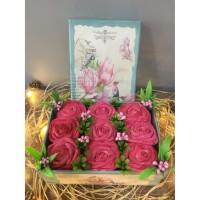 Aşkıma Kutuda Pembe Güller