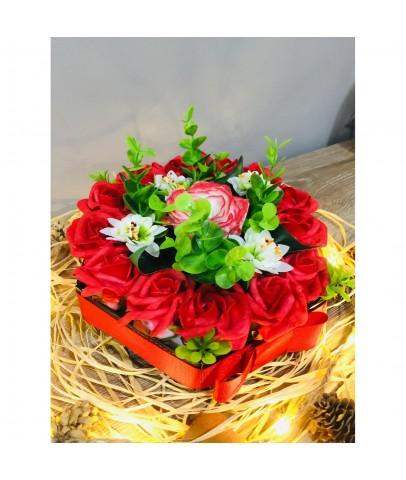 'Çiçek Sevgilim' Kutuda Çiçekler