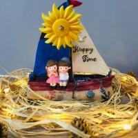Happy Time Sevimli Denizciler Müzikli Biblo