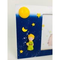 Little Prince Çerçeve ve Little Prince Işıklı Kar Küresi Seti Yılbaşı Hediyesi,Doğumgünü Hediyesi