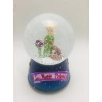 Little Prince Orta Boy Işıklı Kar Küresi/Müzik Kutusu