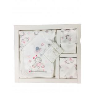 Pembe Uğurböceği Yeni Doğan 5'Lİ Hastane Çıkışı/Zıbın Takımı