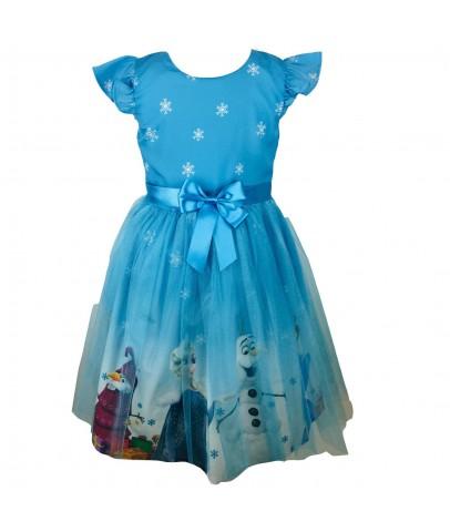 Elbise & Jile - Pumpido Kids ELSA Kız Çocukları İçin Elbise -