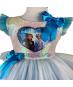 Elbise & Jile - Pumpido Kids Elsa Pullu Tüllü Elbise