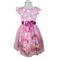 Pumpido Kids Pembe PONY Kız Çocuk Elbisesi