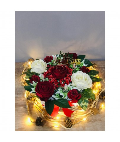 'Seni Seviyorum' Kutuda Güller